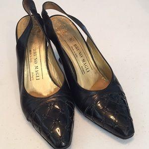 Bruno Magli Slingback heels shoes